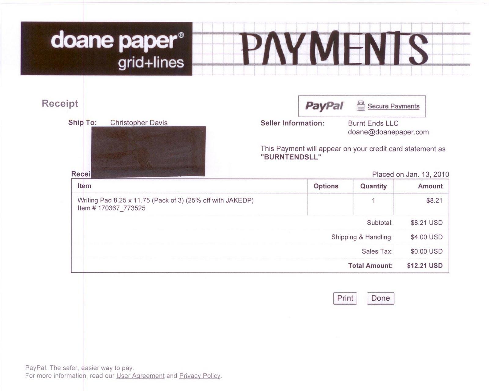 quad paper template