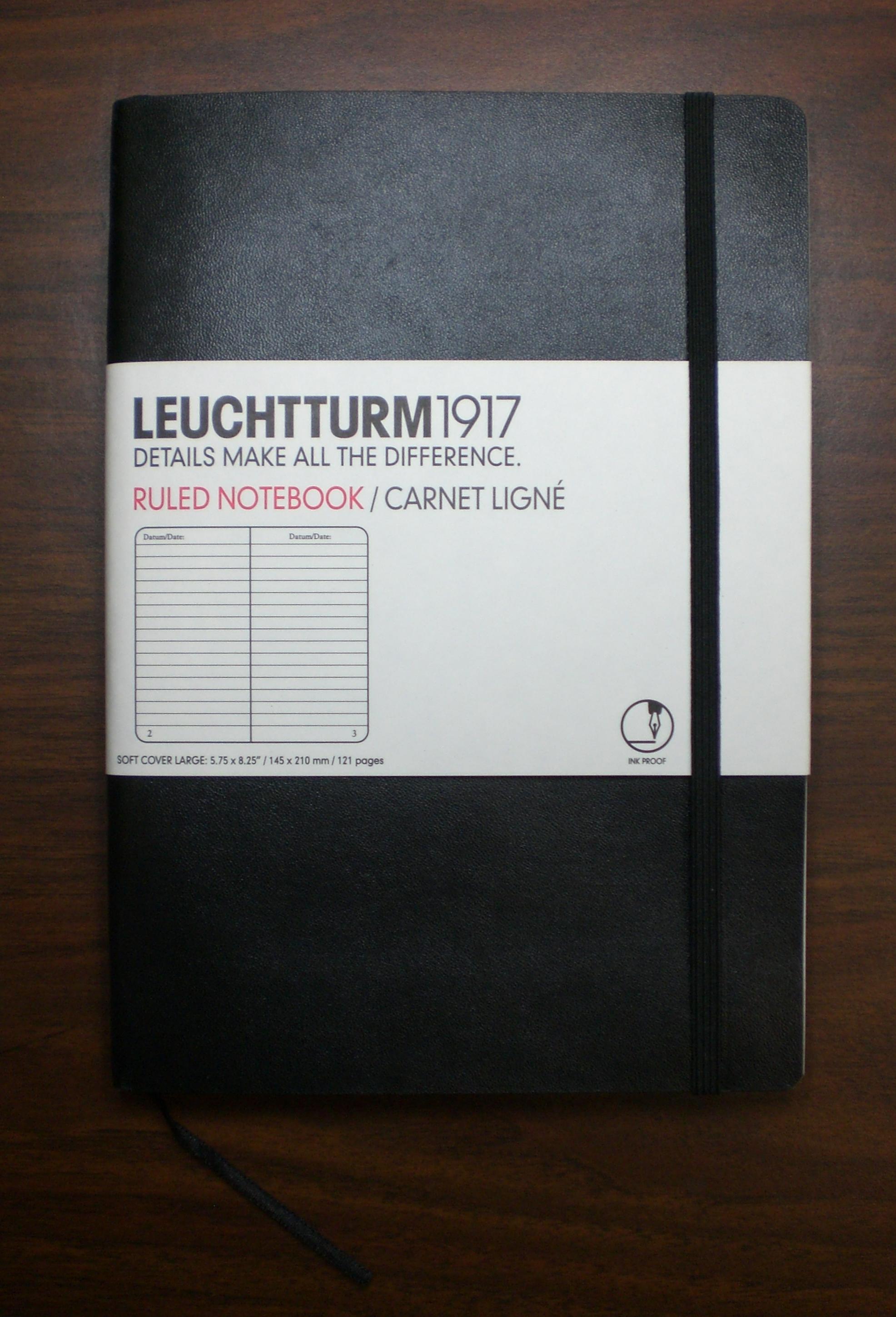 Leuchtturm 1917 A5 Notebook - Pink — J B Welly